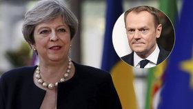 Britové řekli, co udělají s Čechy po brexitu. Tuska to moc nenadchlo