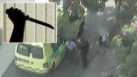 Pobodání v Mostě: Na lavičce se pohádaly kamarádky, jedna vytáhla nůž