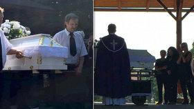 Pohřeb zastřeleného Tomáše (†17): Nejdůležitější ženy jeho života se podpíraly navzájem