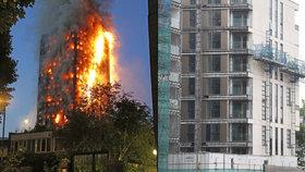 Oběti požáru v Londýně dostanou luxusní byty: Není to fér, stěžují si budoucí sousedé