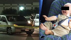 Otec zapomněl syna (†7 měsíců) 10 hodin v autě, dítě zemřelo