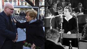 Praha vzpomíná na oběti komunismu. Zapojila se i dcera Milady Horákové