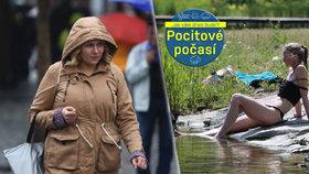 Počasí rozdělí Česko: Na západě bude 18 °C, na východě až 36 °C. Pak silně zabouří