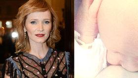 Geislerová slaví narozeniny syna Maxe: Ukázala intimní fotografii