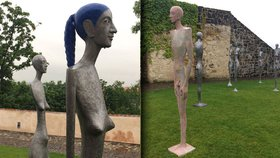 Osudové ženy sochaře Radka Andrleho jsou z kovu. Pracoval s Olbramem Zoubkem