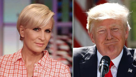 """Trump urazil moderátorku a dostal to """"sežrat"""". Hájila ho jen Melania"""