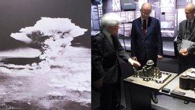 Čech postavil dům, co přežil apokalypsu. Sobotka se mu poklonil v Hirošimě