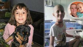 Rakovina požírá Leničce (10) nohu! Udělejte jí radost, pošlete pohled
