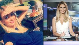 Těhotná moderátorka Sandra Parmová to má za pár: Ukázala bříško!