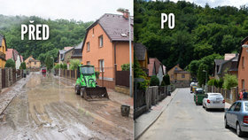Déšť »zalil« Radotín: Místní, silničáři i hasiči pohromu za večer uklidili