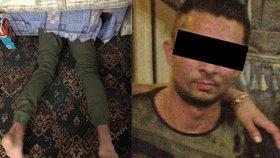 Čech baví Brity: Schoval se před policií pod postel, zapomněl na čouhající nohy