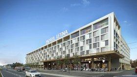Na Letenské pláni vyroste hotel: Bude mít 485 pokojů i bazén