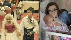Umírající dívka (†5), která zažila svatbu snů: Podlehla zákeřné rakovině