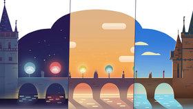 Karlův most slaví 660. výročí položení základního kamene: Google mu připravil animovaný Doodle