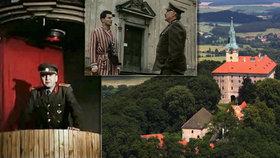 Zámek Zelená Hora: Točili se tady Černí baroni, teď ho můžete výjimečně navštívit