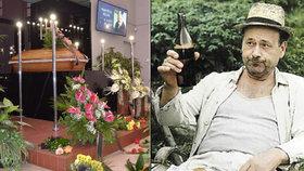 Pohřeb »pana Lorence« Řeháka: Kamarád mu nad rakví splnil desítky let starý slib!