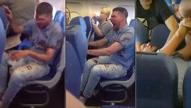 Opilý a zkrvavený Rus terorizoval spolucestující v letadle: Ti ho nakonec sami zpacifikovali