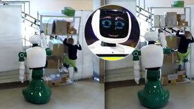 Robot zachránil život malé holčičce: Chytil padající regál!