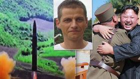 Hrozba KLDR se týká i nás a válku rozpoutá jen blázen, tvrdí český expert
