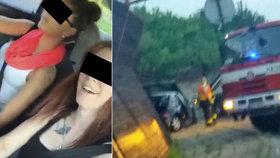 Tragická nehoda dívek ze šíleného videa očima svědků: Ježišmarjá, holky! Sanitku! Jedna dýchá…