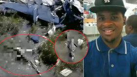 Video jen pro otrlé: Pilota havarovaného letadla sežral aligátor