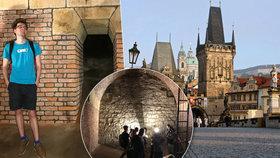 Karlův most slaví 660 let. Lidé se podívali i dovnitř pilíře