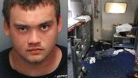 Agresor chtěl za letu otevřít dveře letadla: Zastavila ho až rána lahví vína do hlavy