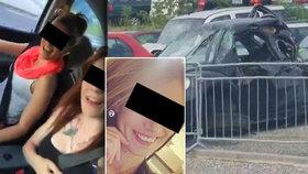 Z auta Nikoly B. (†21) zbyl jenom šrot. Jízda z šíleného videa stála dívku život
