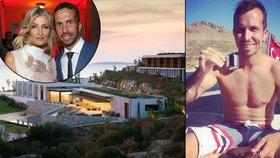Tenista Štěpánek odpočíval v resortu Maxové: Ceny výhradně pro boháče!