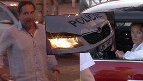 Munzarová a Trnavský z Ordinace bourali: Při autonehodě byl zraněn policista