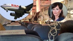Šinkorová po otřesném zážitku v letadle: Z letiště přímo do divadla!