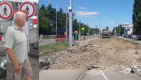 Brno – rozkopaných ulic plno! Za totální chaos ve městě může 44 uzavírek