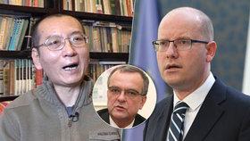 Sobotka kondoloval vdově Lioua Siao-poa. Kalousek: Ať poslanci do Číny neletí