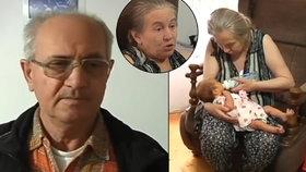 V 60 letech porodila první dítě: Manžel (68) ji opustil, jakmile ho slyšel plakat