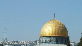 Izrael po útoku na policisty znovu zpřístupnil Chrámovou horu v Jeruzalémě