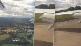 Panika a křik: Letadlo s dovolenkáři narazilo na ranvej, mohl za to vítr