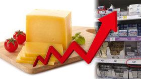Ministerstvo si posvítí na vysokou cenu másla. Zkontroluje, zda má stát 60 korun
