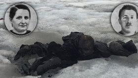 Manželé zmizeli před 75 lety: Jejich těla našli na švýcarském ledovci