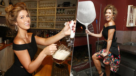 Sexy zpěvačka Victoria: Udělat svíčkovou nebo načepovat pivo? Není problém!