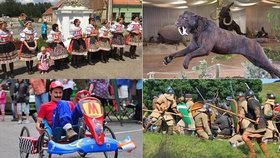 25 tipů na víkend: Středověké bitvy, »splašená vozítka« i folklór