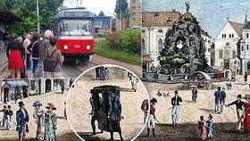 Brno jako první mělo MHD: Dnes je to 309 let, cestující se nosili na nosítkách