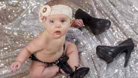 Nový hit: Boty na podpatku pro mimina. Nezbláznily se některé matky?