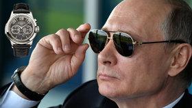 Hodinky se zárukou na Putinovo jméno se prodaly za 27 milionů