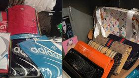 Celníci na letišti: Zadrželi falešné oblečení a hračky proti stresu za 41 milionů