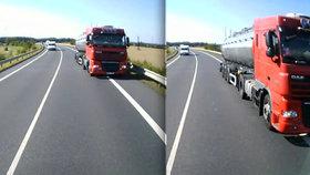 Jirka se podíval smrti do očí: V protisměru se na něj vyřítil kamion! Řidič od nehody ujel