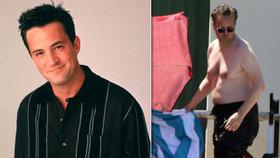 Krasavec Chandler z Přátel je ten tam: Matthew Perry ukázal šílenou vanu