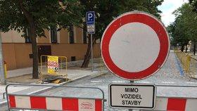 Řepy čeká rekonstrukce části ulice U Boroviček: Měsíc a půl tu řidiči neprojedou