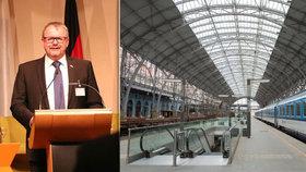 Z Prahy do Mnichova vlakem pod 4 hodiny? Do roku 2030, shodli se ministři
