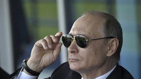 """Putin o nových sankcích USA: """"Hrubost vůči naší zemi nelze trpět donekonečna"""""""