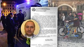 Řešíte málo přestupků, zaměřte se na koloběžky! Drsný dopis šéfa strážníků z centra Prahy
